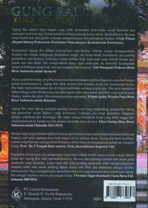 Cover Belakang Buku Gung Rai Sang Mumpuni