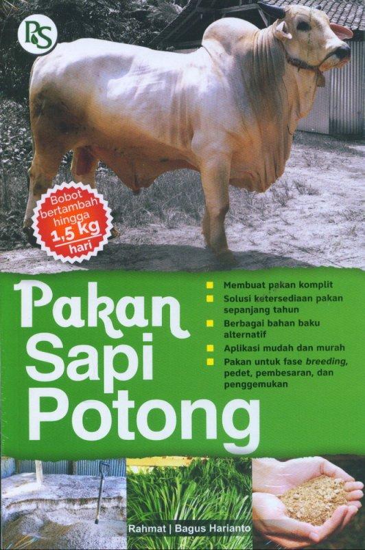 Cover Buku Pakan Sapi Potong