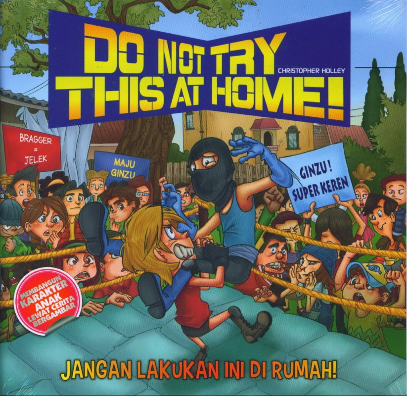 Cover Buku Do Not Try This At Home