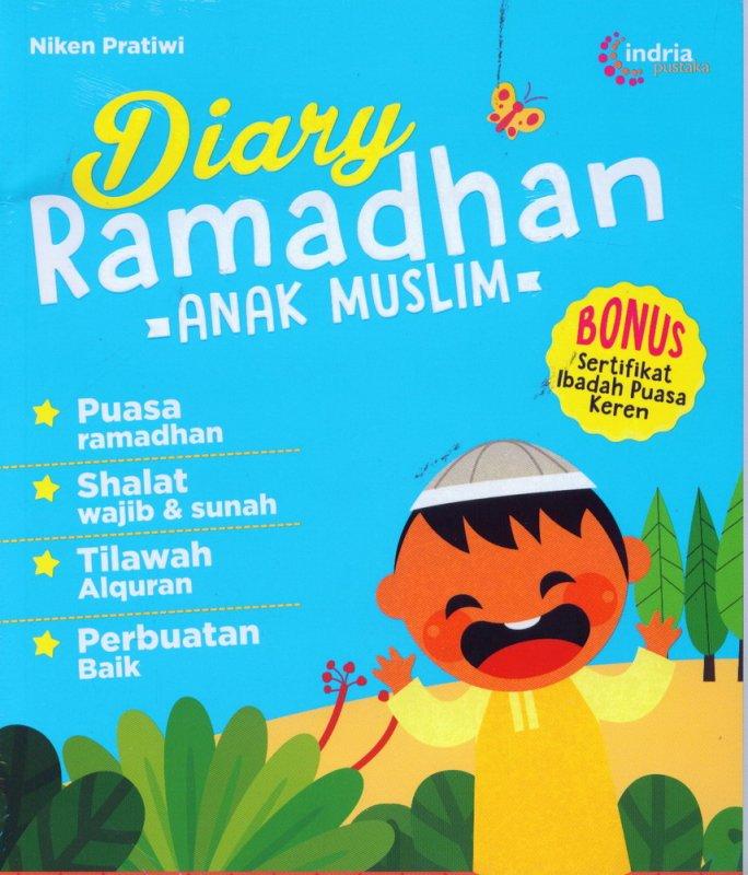Cover Buku Diary Ramadhan - Anak Muslim