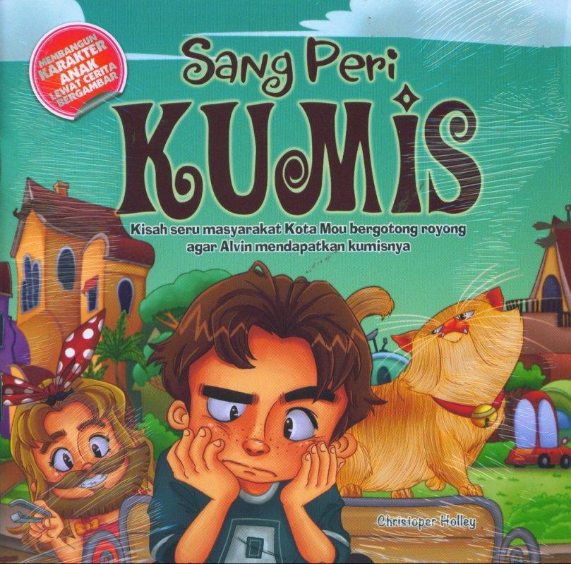 Cover Buku Sang Peri Kumis