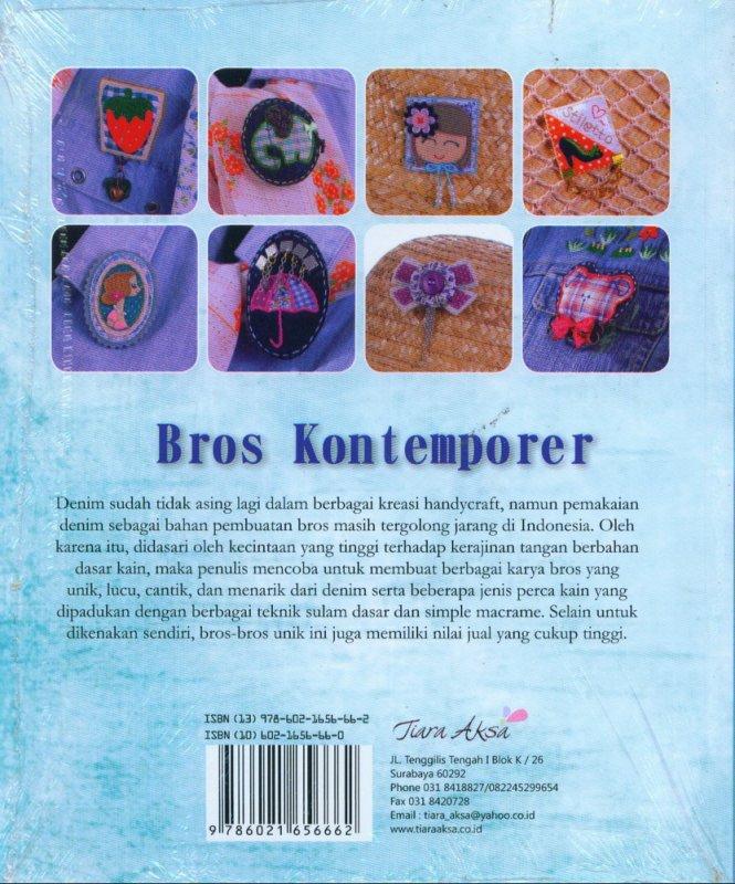 Cover Belakang Buku Bros Kontemporer