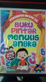Buku Pintar Menulis Angka [full color & full picture]