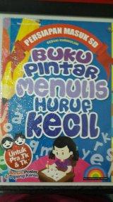 Buku Pintar Menulis Huruf Kecil [full color & full picture]