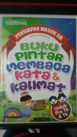 Buku Pintar Membaca Kata & Kalimat [full color & full picture]
