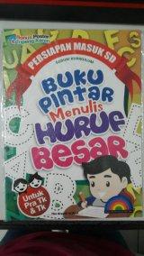 Buku Pintar Menulis Huruf Besar Untuk Pra TK & TK