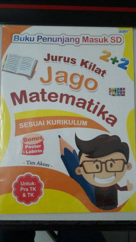 Cover Buku Jurus Kilat Jago Matematika