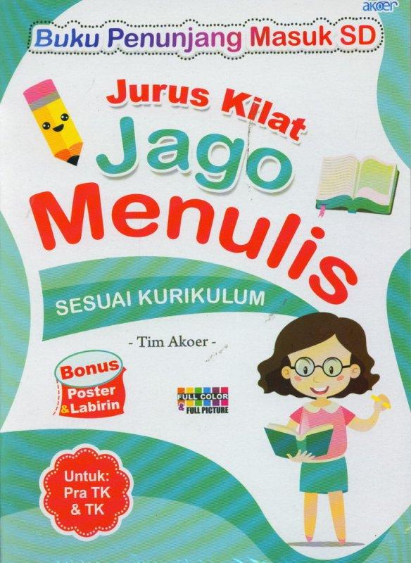 Cover Buku Jurus Kilat Jago Menulis
