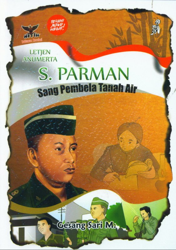 Cover Buku S. Parman Sang Pembela Tanah Air