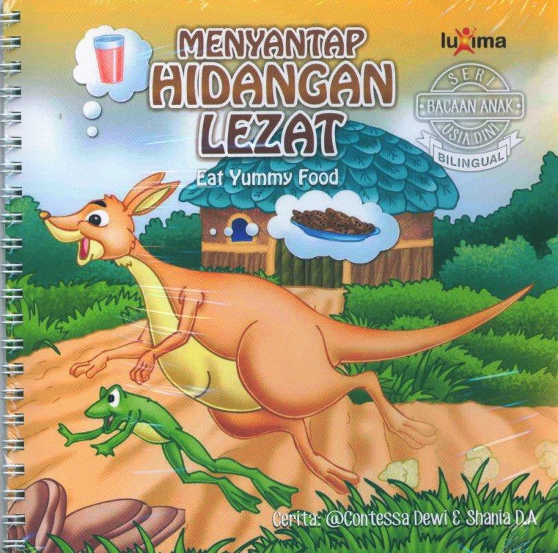 Cover Buku Seri Bacaan Anak Usia Dini: Menyantap Hidangan Lezat (Bilingual)