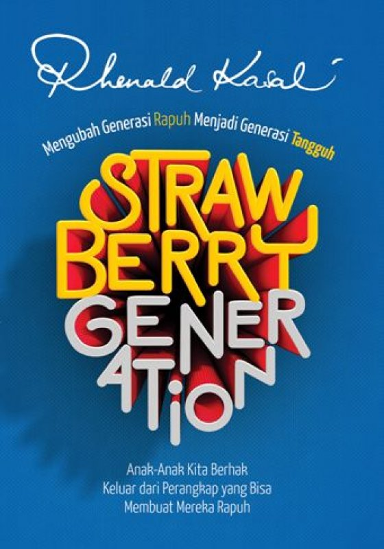 Cover Buku Strawberry Generation