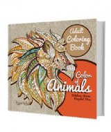 Adult Coloring Book: Color Of Animals (special offer diskon 50)