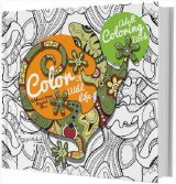 Adult Coloring Book: Color Of Wild Life [Diskon 30%]