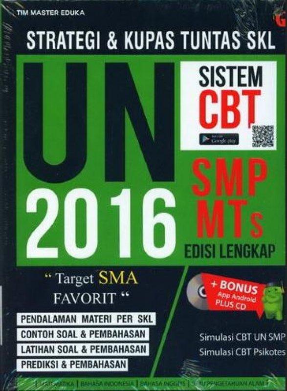 Cover Buku Strategi dan Kupas Tuntas SKL UN SMP-MTs 2016 Edisi Lengkap (BK) (Disc 50%)