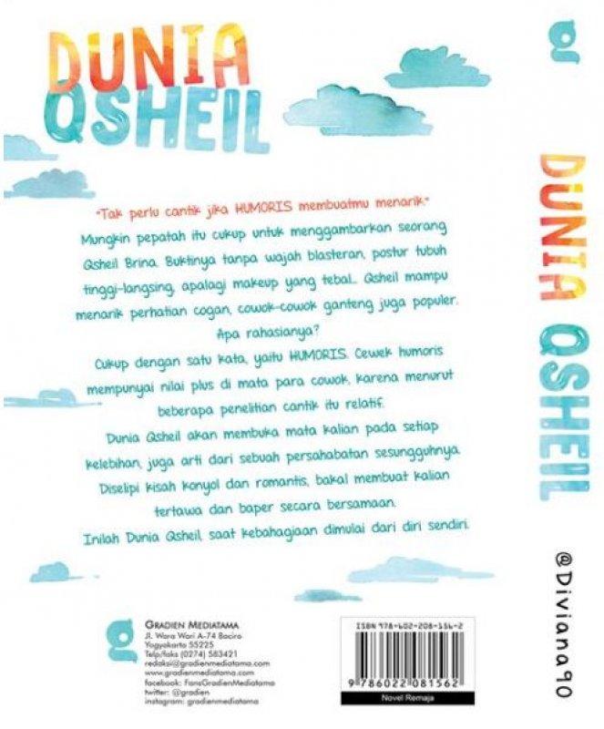 Cover Belakang Buku Dunia Qsheil