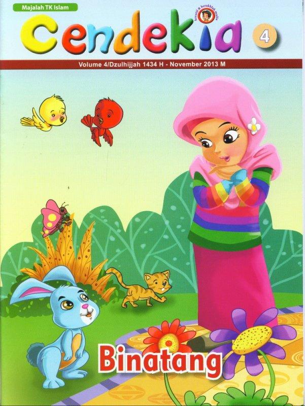 Cover Buku Majalah Cendekia Binatang Volume 04| November 2013 (BK)