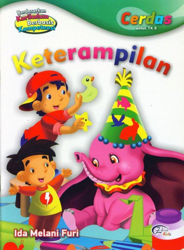 Cover Buku Keterampilan, Cerdas untuk TK B (BK)