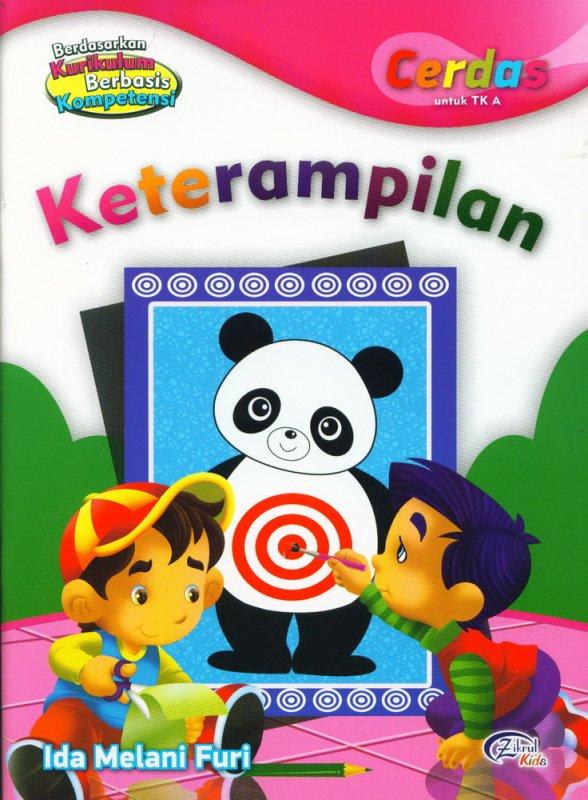 Cover Buku Keterampilan, Cerdas untuk TK A (BK)