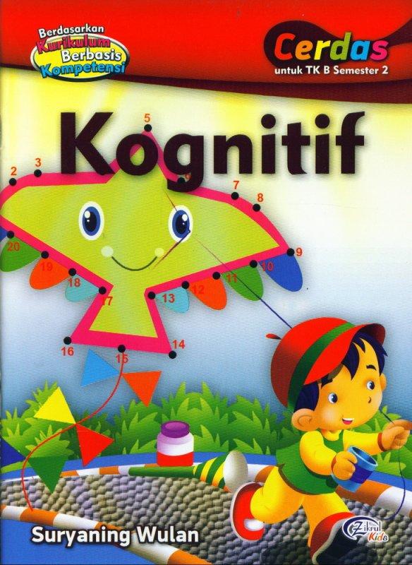 Cover Buku Kognitif, Cerdas untuk TK B Semester 2 (BK)