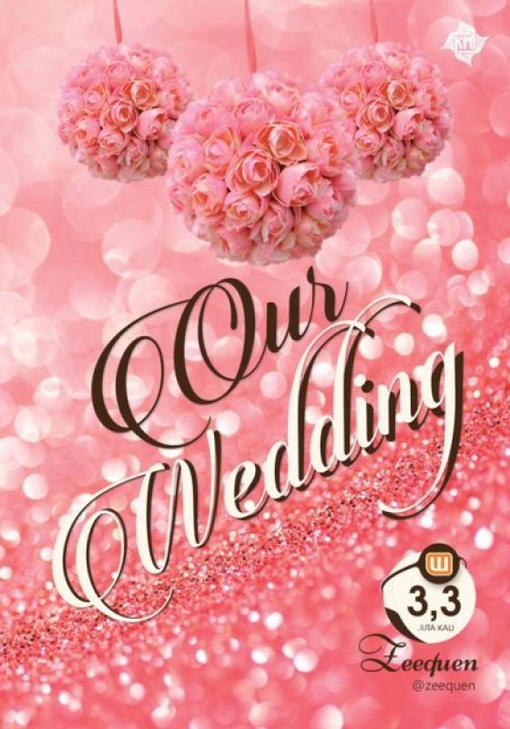 Cover Buku Our Wedding + blocknote