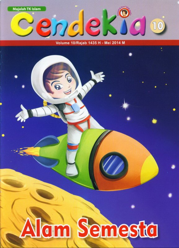 Cover Buku Majalah Cendekia Alam Semesta Volume 10   Mei 2014 (BK)