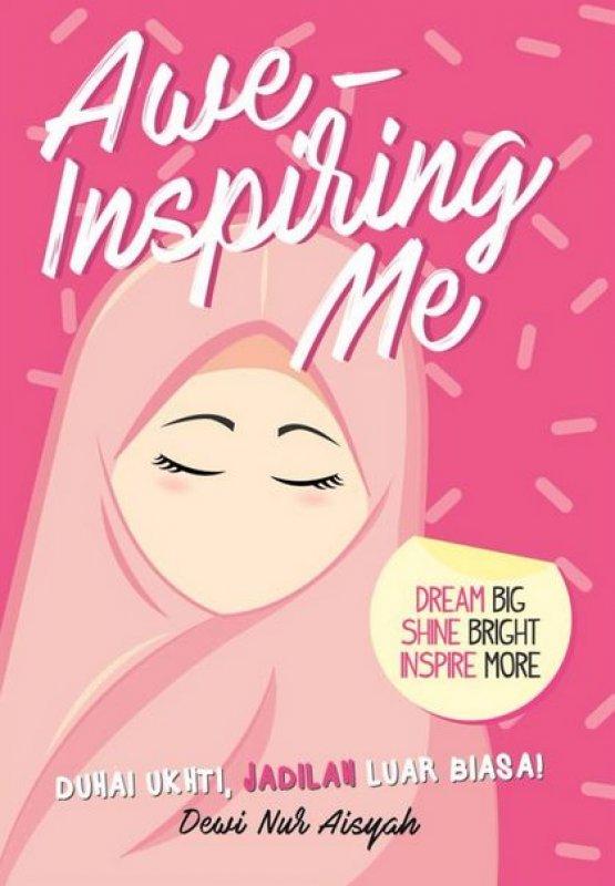 Cover Buku Awe-Inspiring Me (Cover Baru)