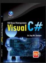 100 Kasus Pemrograman Visual C# + cd