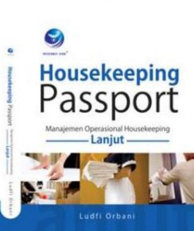 Cover Buku Housekeeping Passport, Manajemen Operasional Housekeeping Lanjut