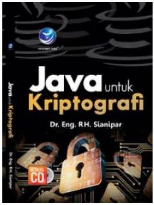 Cover Buku Java Untuk Kriptografi + cd