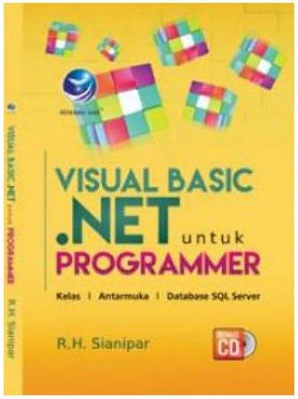 Cover Buku Visual Basic.Net Untuk Programmer+cd