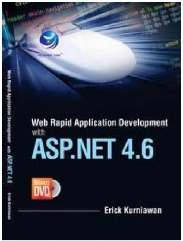 Cover Buku Web Rapid Apllication Development With ASP.NET 4.6+DVD