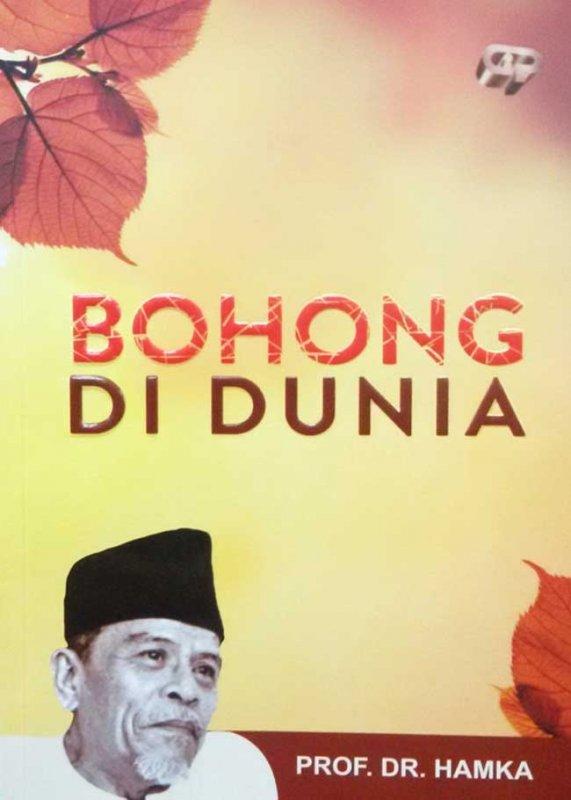 Cover Buku Bohong Di Dunia