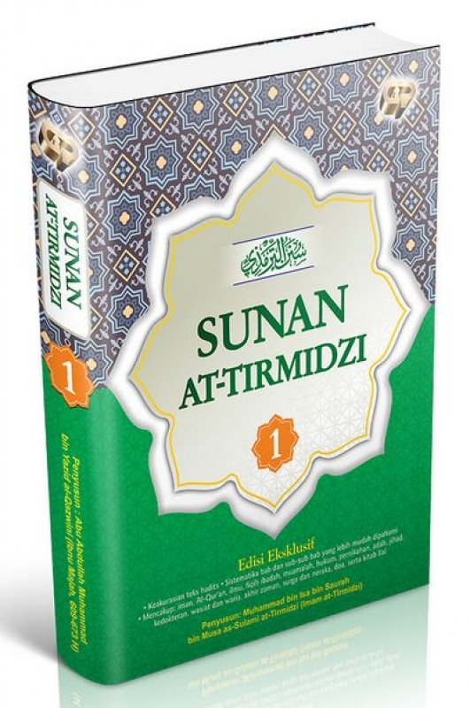 Cover Buku Sunan At Tirmidzi Jilid 1 (HC)