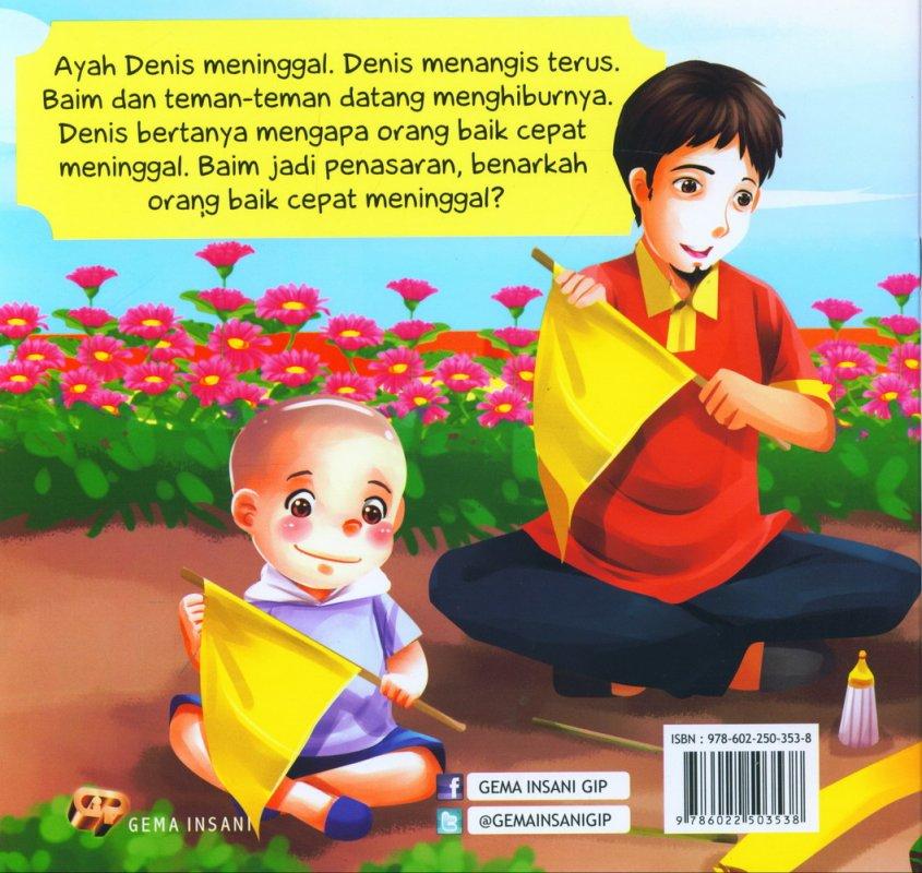 Cover Belakang Buku Seri Tauhid for Kids: Allah Menghidupkan dan Mematikan: Salah Warna Bendera