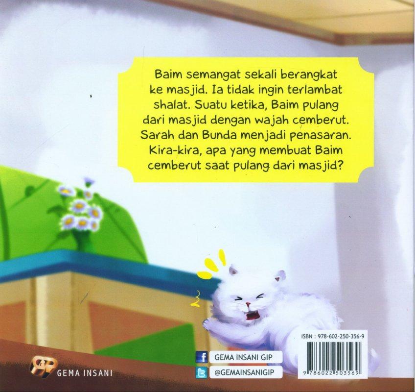 Cover Belakang Buku Seri Tauhid for Kids: Larangan Berbuat Riya: Rahasia Shalat Baim