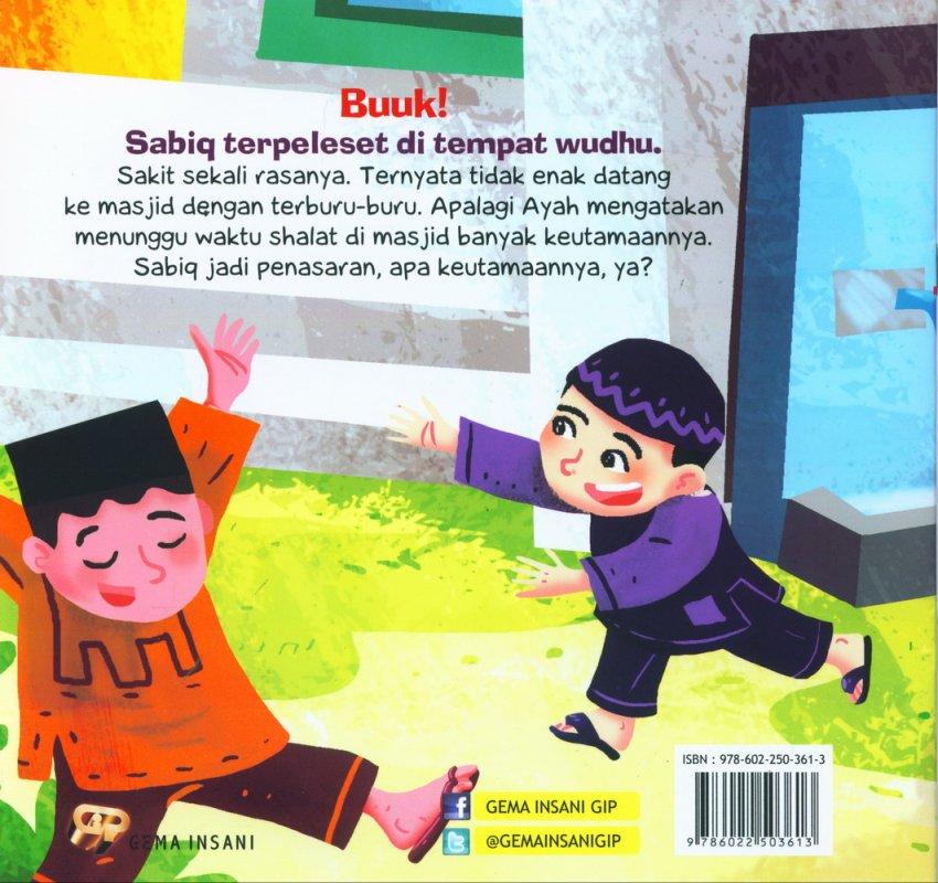 Cover Belakang Buku Seri Anak Saleh Didoakan Malaikat: Awas Terpleset