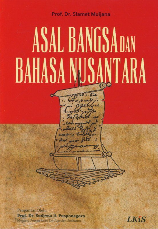 Cover Buku Asal Bangsa dan Bahasa Nusantara