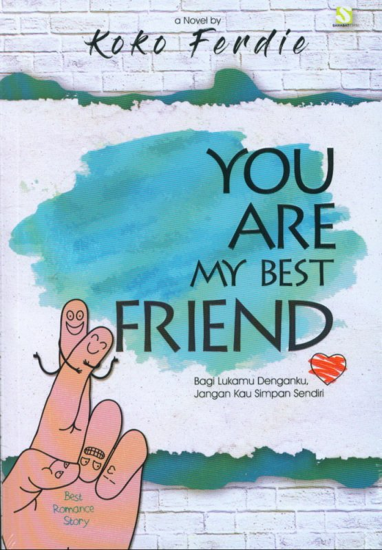 Cover Buku You Are My Best Friend