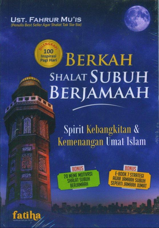 Cover Buku Berkah Shalat Subuh Berjamaah