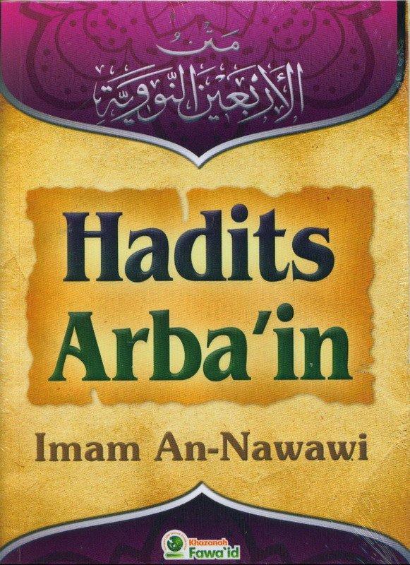 Cover Buku Hadits Arba an
