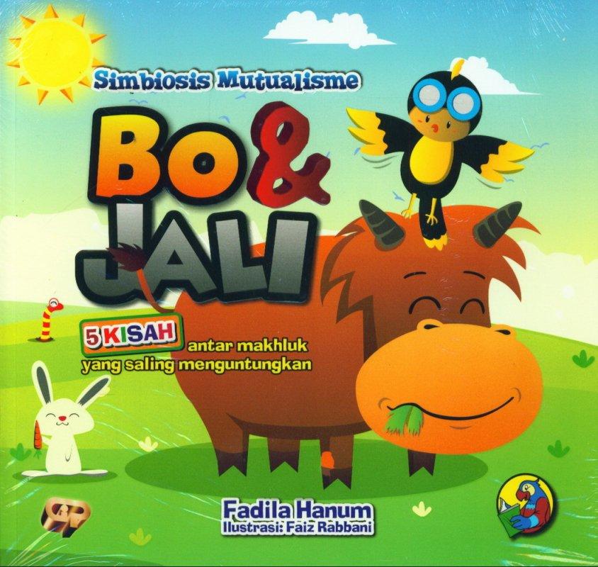 Cover Buku Simbiosis Mutualisme Bo & Jali: 5 Kisah antar makhluk yang saling menguntungkan