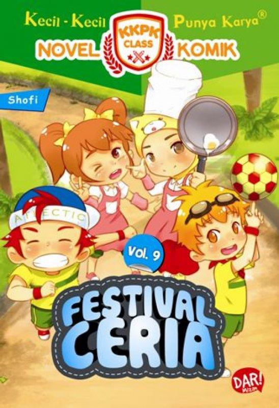 Cover Buku KKPK Class Nomik: Festival Ceria