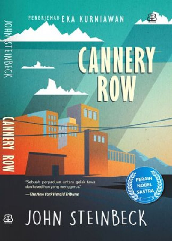 Cover Buku Cannery Row