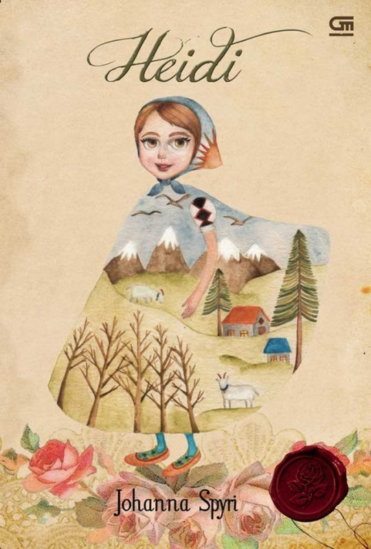 Cover Buku Heidi