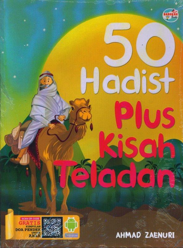 Cover Buku 50 Hadits Plus Kisah Teladan