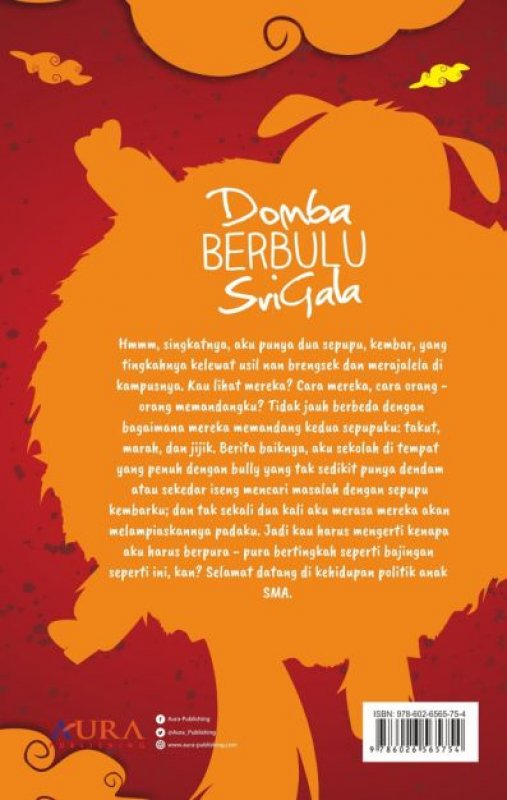 Cover Belakang Buku Domba Berbulu Serigala
