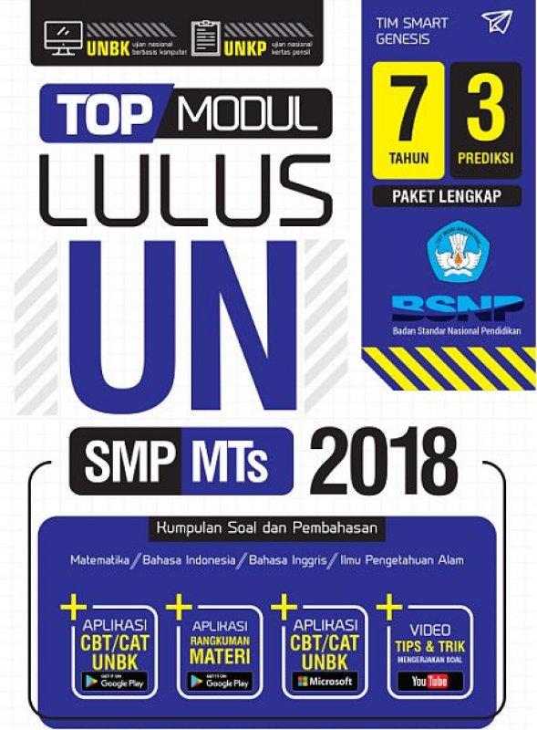 Cover Buku Top Modul Lulus UN SMP Mts 2018