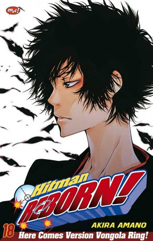 Cover Buku Hitman Reborn 18