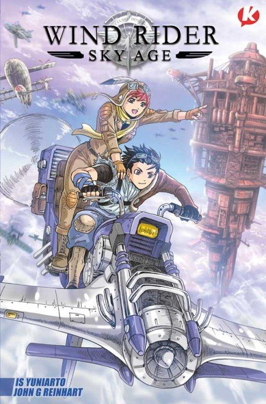 Cover Buku Wind Rider - Sky Age