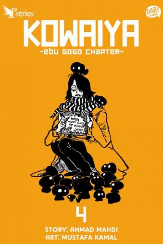 Cover Buku Fantasteen Series Kowaiya: EBU GOGO (komik)